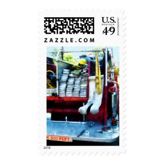 Hoses in Fire Truck Postage