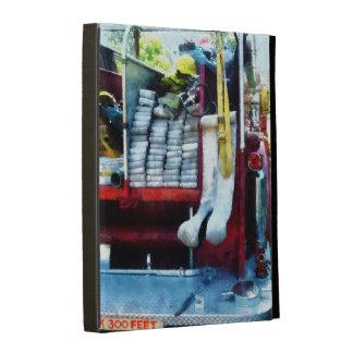 Hoses on Fire Truck iPad Folio Cases