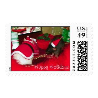 Hoshi and Spruce Postage Stamp