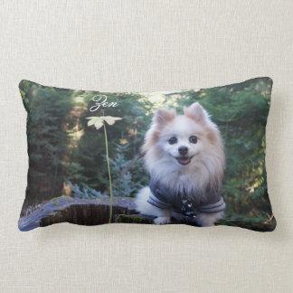 Hoshi and Zen Pillowcase Lumbar Pillow