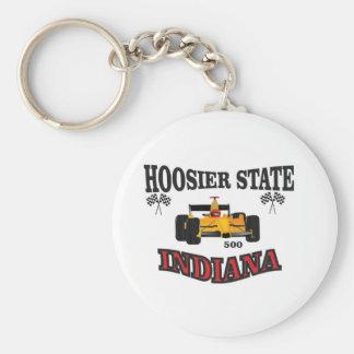 hosier state art keychain