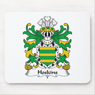 Hoskins Family Crest Mouse Pad