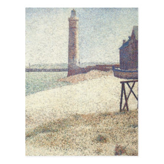 Hospice and Lighthouse at Honfleur by Seurat Postcards