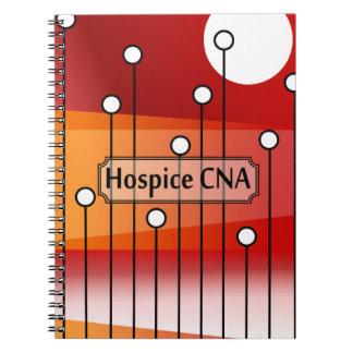 Hospice CNA Nursing Assistant Spiral Notebook