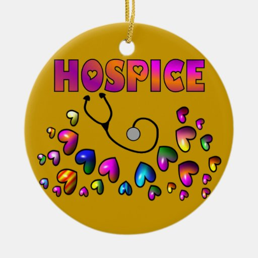 HOSPICE HEARTS Christmas Ornament