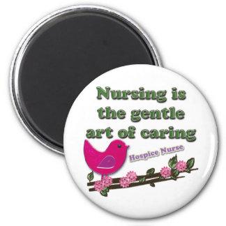 Hospice Nurse 2 Inch Round Magnet