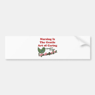 Hospice Nurse Bumper Sticker