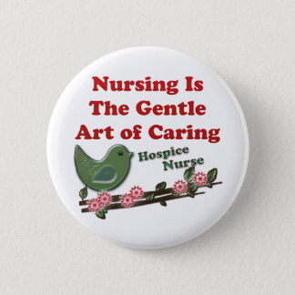 Hospice Nurse Button