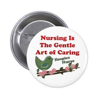 Hospice Nurse Button