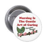 Hospice Nurse Buttons
