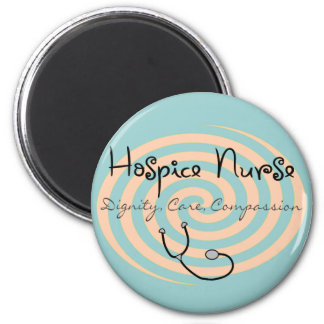 "Hospice Nurse ""Dignity Care Compassion"" Magnet"