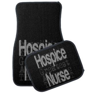 Hospice Nurse Extraordinaire Car Mat
