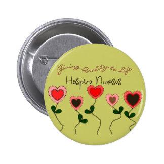 Hospice Nurse Gifts Button