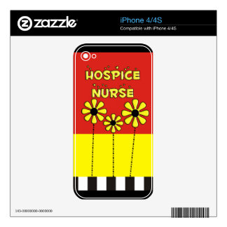 Hospice Nurse Gifts Decals For iPhone 4S