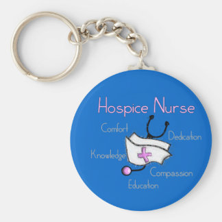 Hospice Nurse Gifts Keychain