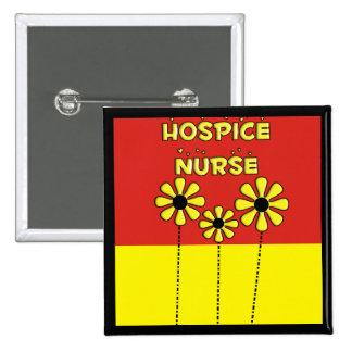 Hospice Nurse Gifts Pinback Button