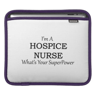 HOSPICE NURSE iPad SLEEVE