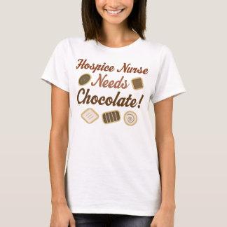 Hospice Nurse Needs Chocolate T-Shirt