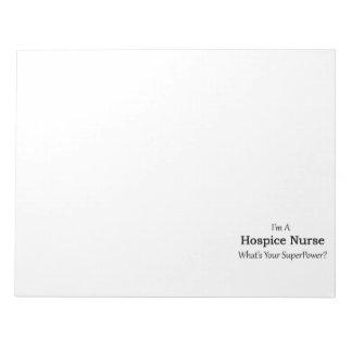 Hospice Nurse Notepad