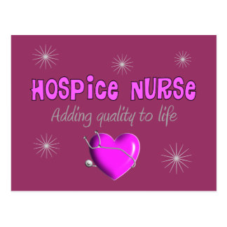 Hospice Nurse T-shirts and Gifts Postcard