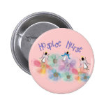 Hospice Nurse WHISPY Angels Design Buttons