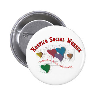 Hospice Social Worker Gifts Button