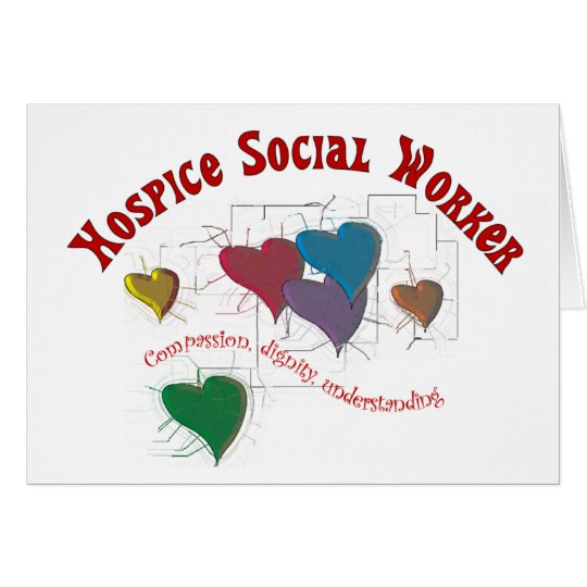 Hospice Social Worker Gifts Card