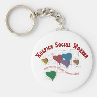 Hospice Social Worker Gifts Keychain