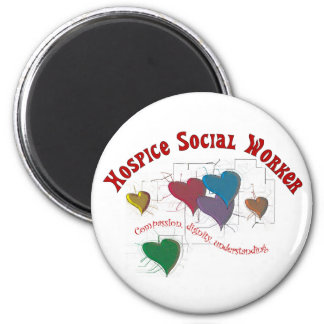 Hospice Social Worker Gifts Magnet