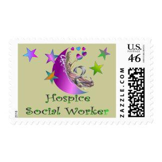 Hospice Social Worker Postage Stamp
