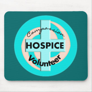 Hospice Volunteer Gifts (Discount Priced) Mouse Pad