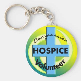 Hospice Volunteer Gifts Keychain