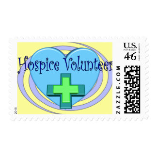 Hospice Volunteer Gifts Stamps