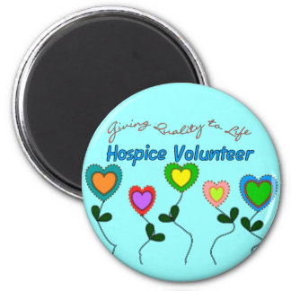 Hospice Volunteer Shirts and Gifts Magnet