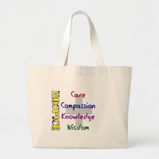 Hospice Worker Gifts Jumbo Tote Bag