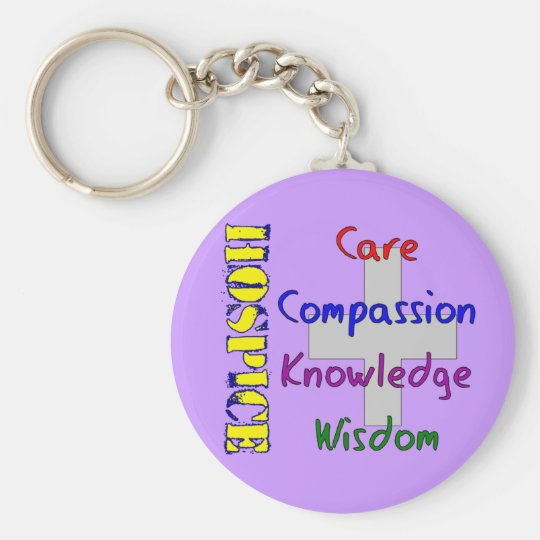 Hospice Worker Gifts Keychain