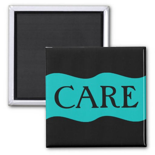 Hospice Workers Embody a Spirit of Caring 2 Inch Square Magnet