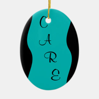Hospice Workers Embody a Spirit of Caring Ceramic Ornament