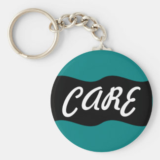 Hospice Workers Embody a Spirit of Caring Keychain