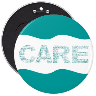 Hospice Workers Embody a Spirit of Caring Pinback Button