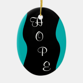 Hospice Workers Embody a Spirit of Hope Ceramic Ornament