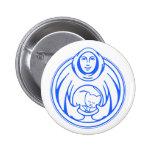 Hospicio de St Francis para el logotipo del azul d Pins
