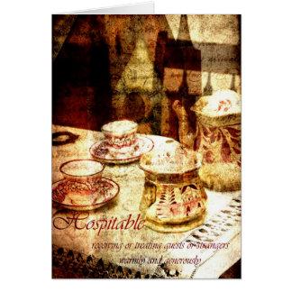 hospitable card