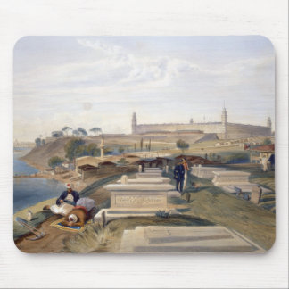 Hospital and Cemetery, Scutari, plate from 'The Se Mouse Pad