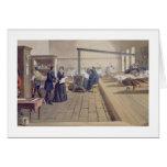 Hospital at Scutari, detail of Florence Nightingal Card