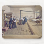 Hospital at Scutari, detail of Florence Nightingal Mouse Pad
