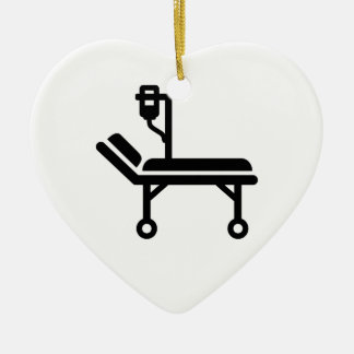 Hospital bed christmas tree ornaments