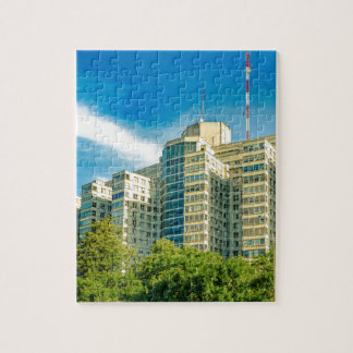 Hospital Building Exterior View, Montevideo Jigsaw Puzzle