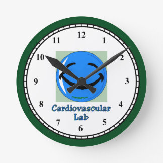 Hospital Cardiovascular Lab Round Clock