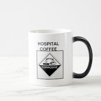 Hospital coffee - corrosive magic mug